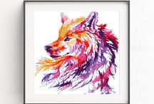 Watercolor Cross Stitch
