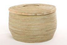 Baskets / Baskets woven in Melawi and Zimbabwe