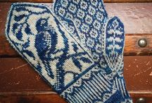 crochet 編み込み模様