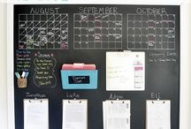 calendars / by Tausha Hoyt {Sassy Style Redesign}