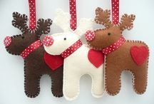 Fabric Christmas decorations