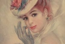 portrety dawnych kobiet