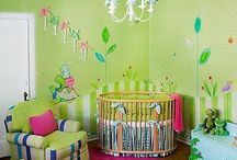 Baby's Room / Fun and creative ways to decorate baby's room / by Robin Bell