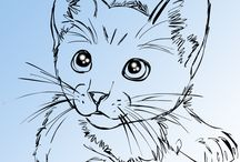 Cat sketching ideas