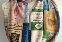 Bookish Scarves