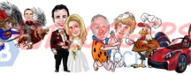 Caricature Maker / Caricature Maker is a service of BloggersTech.com and if you're interested you can visit and order a caricature art o yourself or of someone. 