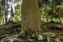 Tugu Gede Megalith / Based on the artifacts found in this site, it is likely that this site is the epicenter of activity since the prehistoric times to the later period, either for religious purposes or other unknown purposes.