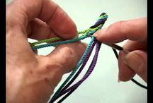 Mochila bags and cord making