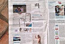INSERZIONI / Una raccolta della nostra attività di advertising su carta stampata