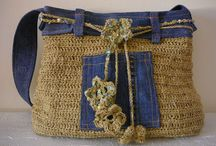 bags / knit and crochet bags