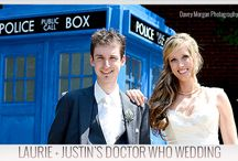 Geeks in Love / For our geeky, nerdy and bookish brides.