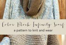 шарфы, шали, снуды