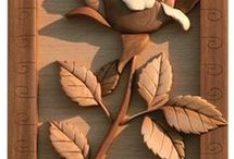 talla en madera.