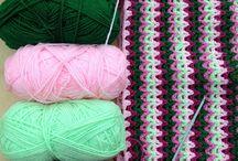 gooseberry fool crochet blankie