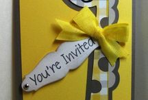 Handmade Invitations by ME