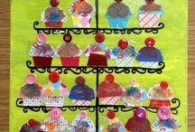 Kunstproject - Wayne Thiebaud / Kunstproject met groep 3