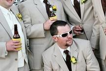 Grooms men suit