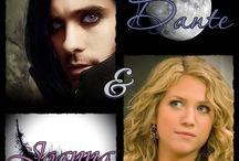 El ángel de la oscuridad / Estos son los personajes de mi novela ^^