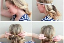 Quick easy hair