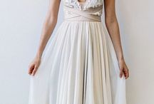 Boho wedding dresses / Inspiration for beautiful Boho Wedding Dresses