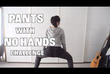 Pants with no Hands!