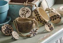 wood burning jewelry