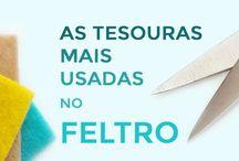 Dicas Para Iniciantes em Feltro / Dicas para você que está iniciando nesse maravilhoso mundo do feltro! Confira no blog! (clique em visitar ou acesse www.timart.com.br/blog)