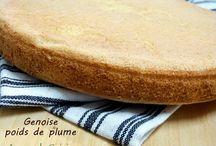 recettes de genoise / voila des recettes belle est genial dans lesquelles, la genoise est l'ingredient de base.