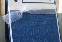 Cuttlebug - Happy Birthday Folder