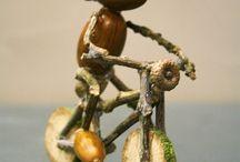 Żołędzie i kasztany