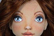 кукольное лицо,волосы
