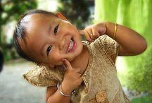 Sourire et le bonheur