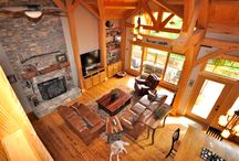 Great Rooms / Great Rooms of timber frame construction