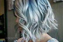 Hår / Maybe you van se I LOVE blue hair