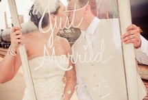 Sweet Wedding Words / #wedding  #signs  #typography