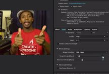 video setting ater effect and premiere