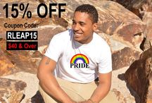 Rainbow LEAP / www.rainbowleap.com LGBTQ Apparel Customize your own designs or choose from our collection
