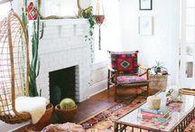 Living Room: Boho