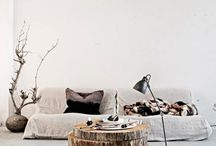 scandinavian home style / simly, nature, wild