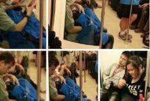 Sesso orale in metrò. Video scandalo in Cina