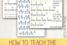 Music Activities: Read and Write! / Kids music activities. How to read music. Music literacy.