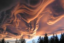 Beautiful and unusual clouds / Weird Weather, cloud,snow