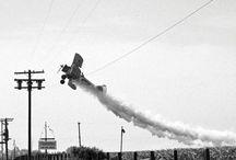 Crop Duster flying