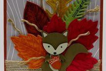 Cartes foxy friends