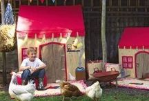 The great outdoors - Win Green play tents and wigwams / These traditional play tents and wigwams from Win Green are great inside or out.