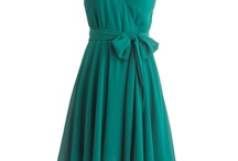 Put On a Party Dress / Once upon a time, I looked for bridesmaid dresses.