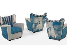 La Mia Zarina / Zarina, iconic piece, can be La Mia Zarina, you can personalize the armchair with a subject of your choice to create a Pop version Style.