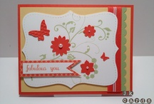 Scrapbook carte de fête / by Diane Demers