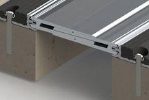 Profile pentru rosturi de dilatare - Profile for expansion joints / Profile for expansion joints made with the technique from bridges