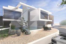 Mehrfamilienhäuser Architektur / Moderne Mehrfamilienhäuser vom Architekten individuell geplant. Skulpturale Architektur schafft bahnbrechende Wohnräume und einen ästhetischen Mehrwert.